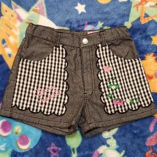 Shirley Temple - 【130cm】 シャーリーテンプル 苺刺繍 ショートパンツ