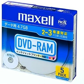 maxell DVD-RAM 4.7PWB.S1P5S A