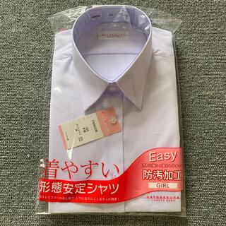 ワイシャツ 女子 (シャツ/ブラウス(半袖/袖なし))