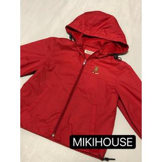 mikihouse - ミキハウス ウィンドブレーカー ナイロンジャケット 美品 90