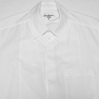 Yohji Yamamoto - yohji yamamoto pour homme  半袖 レイヤードシャツ