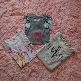 イッカ(ikka)のTシャツ 女のこ 140,150(Tシャツ/カットソー)