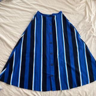 バンヤードストーム(BARNYARDSTORM)のストライプ スカート(ロングスカート)