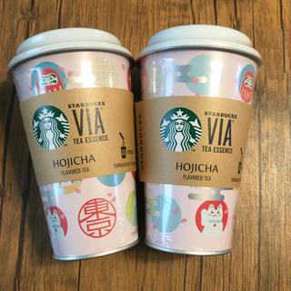 スターバックスコーヒー(Starbucks Coffee)のスタバ 東京界隈限定 ほうじ茶12本セット 2点(茶)