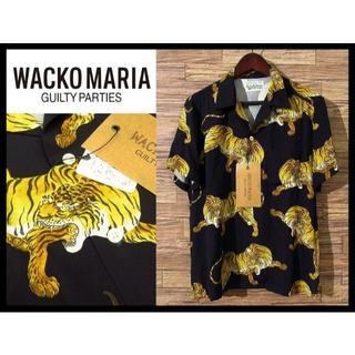 WACKO MARIA - 激レア希少 新品 ワコマリア 14SS オリジナル タイガー アロハシャツ L黒