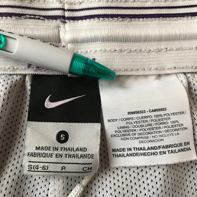 NIKE(ナイキ)のナイキ フィットネスパンツ 紫 スポーツ/アウトドアのランニング(ウェア)の商品写真