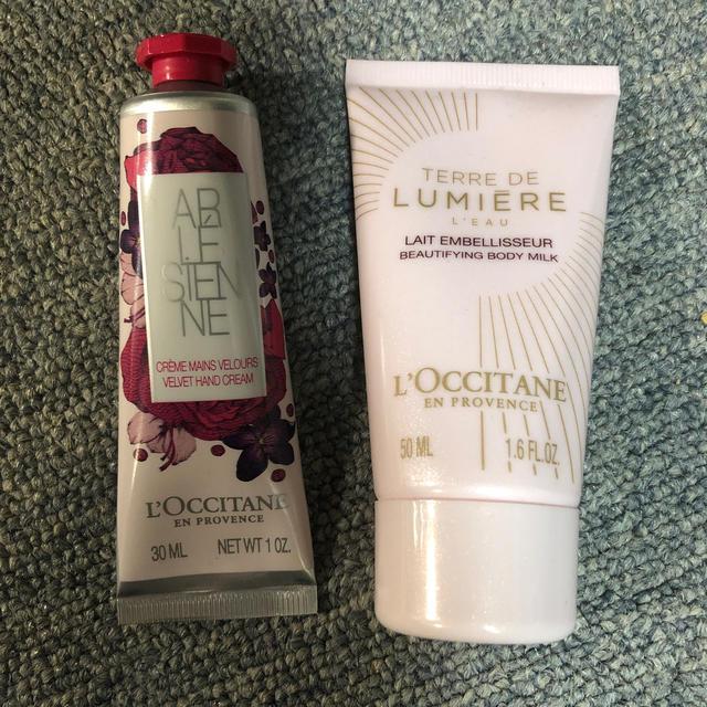 L'OCCITANE(ロクシタン)のロクシタン ハンドクリーム 乳液 試供品セット コスメ/美容のボディケア(ハンドクリーム)の商品写真