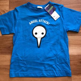 ジーユー(GU)のGU ジーユー エヴァンゲリオン 半袖 Tシャツ 新品未使用 タグ付き 110 (Tシャツ/カットソー)