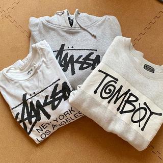 ステューシー(STUSSY)のstussy 3点set売り トレーナー Tシャツ Ssize(Tシャツ(半袖/袖なし))