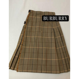 BURBERRY - バーバリー BURBURRY ウール100% スカート