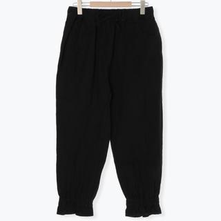 SM2 - サマンサモスモス 裾絞りパンツ ブラック