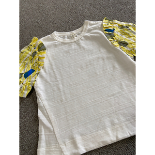 エフオーファクトリー(F.O.Factory)の未使用❤︎apres les cours❤︎切り替えTシャツ❤︎110cm(Tシャツ/カットソー)