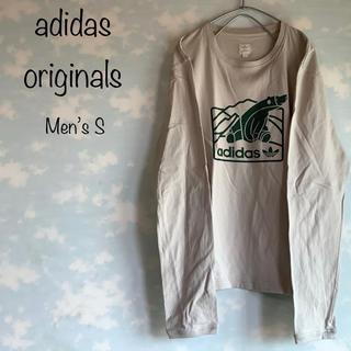 アディダス(adidas)のadidas originals ロンT プリントTシャツ トップス ロゴマーク(Tシャツ/カットソー(七分/長袖))