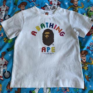 A BATHING APE - ベイシングエイプ  BAPE  KIDS Tシャツ