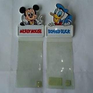 ディズニー(Disney)のディズニーランド チケットホルダー ミッキー ドナルド(遊園地/テーマパーク)