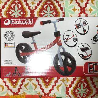 haucK エコライダー キックバイク バランスバイク (三輪車/乗り物)