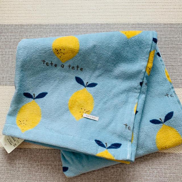 futafuta(フタフタ)のテータテート  レモン タオルケット キッズ/ベビー/マタニティの寝具/家具(タオルケット)の商品写真