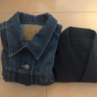 グッチ(Gucci)のorange様専用 グッチ2枚セット Gジャンとジャケット(Gジャン/デニムジャケット)