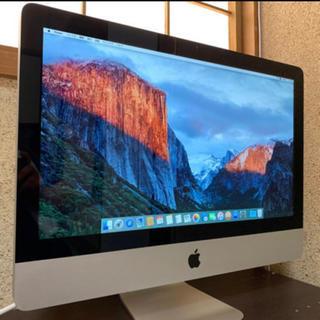 apple imac 2011 21.5インチ(デスクトップ型PC)