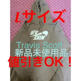 カクタス(CACTUS)のTravis scott パーカー L オリーブ highest hoodie(パーカー)