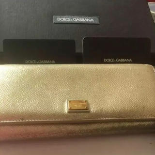 ドルチェアンドガッバーナ(DOLCE&GABBANA)のドルチェ&ガッパーナ お財布(財布)