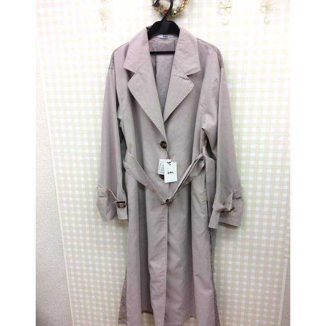 GRL(グレイル)の【新品】GRLバックレーストレンチコートS  スーパーロング レディースのジャケット/アウター(トレンチコート)の商品写真