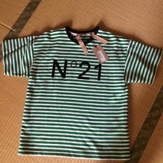 ヌメロヴェントゥーノ(N°21)の【N˚21  ヌメロヴェントゥーノ】ボーダーTシャツ  ゆったり 新品未使用(Tシャツ(半袖/袖なし))