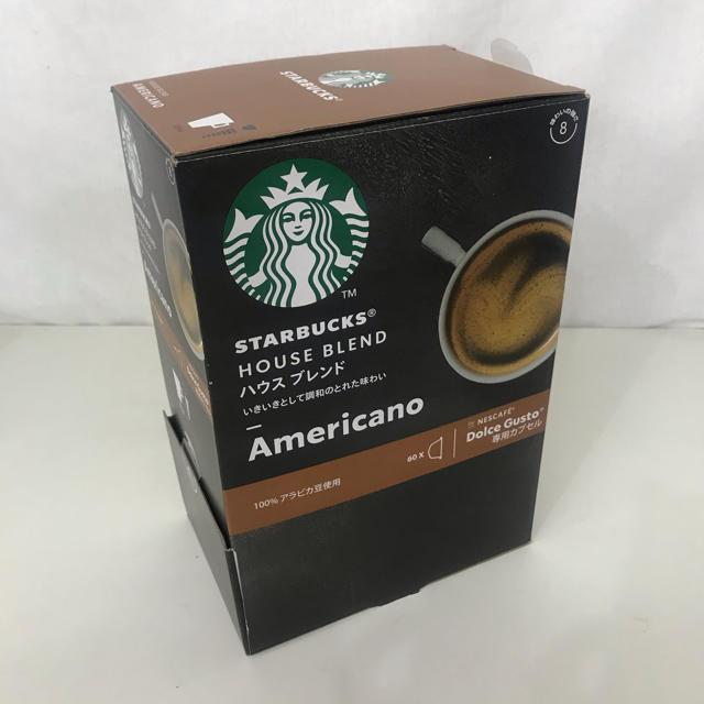Starbucks Coffee(スターバックスコーヒー)のネスカフェ ドルチェグスト専用カプセル スターバックス 48杯 コーヒー 食品/飲料/酒の飲料(コーヒー)の商品写真