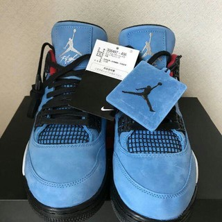 NIKE - NIKE AIR JORDAN 4 TRAVIS SCOTT トラヴィス