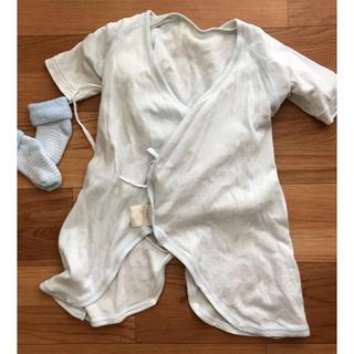 ニシマツヤ(西松屋)の西松屋 新生児セット コンビ肌着 短肌着 長肌着 下着 50 60 (肌着/下着)
