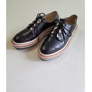 ザラ(ZARA)のZARAレディース 37(24cm)サイズ(ローファー/革靴)