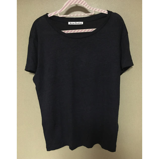アクネ(ACNE)の特別価格!acnestudios リネンTシャツ (Tシャツ(半袖/袖なし))
