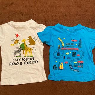 シマムラ(しまむら)の半袖Tシャツ 2点セット 男の子 100センチ(Tシャツ/カットソー)