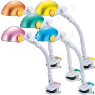 ツインバード(TWINBIRD)のクリップ式 蛍光灯器具(蛍光灯/電球)