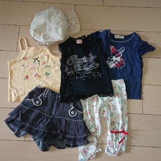 エニィファム(anyFAM)の夏物90~95センチ6点セット(Tシャツ/カットソー)