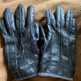 アグ(UGG)のひぃ様専用 ugg レザー手袋(手袋)