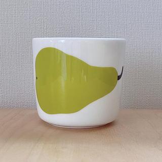 marimekko - 新品 marimekko マリメッコ 60周年記念 ラテマグ パリーナ 洋梨柄
