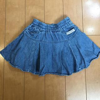 エフオーキッズ(F.O.KIDS)のエフオーキッズ デニムスカート 100 90(スカート)