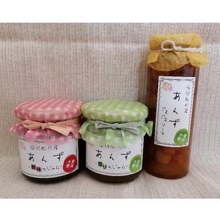 coco man♡様専用ページ あんずジャム2種類、ゴロゴロソース(缶詰/瓶詰)