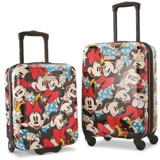 アメリカンツーリスター(American Touristor)の新品【アメリカンツーリスター】スーツケース 2個セット ディズニー ミニー(スーツケース/キャリーバッグ)