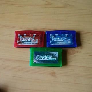 ゲームボーイアドバンス(ゲームボーイアドバンス)のポケットモンスター ルビー、サファイア、エメラルド(携帯用ゲームソフト)