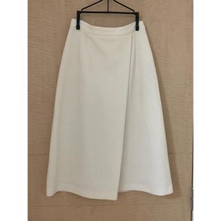 ルシェルブルー(LE CIEL BLEU)のルシェルブルー ミドル丈スカート(ひざ丈スカート)
