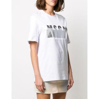 新品未使用 MSGM レディースロゴTシャツ
