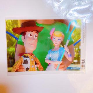 ディズニー(Disney)のトイストーリー4 ステッカー ウッディ ボーピープ(しおり/ステッカー)
