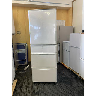 SHARP - 送料+設置無料! 両ドア SHARP 5ドア冷蔵庫 自動製氷 384L