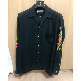 WACKO MARIA - TAKUYA∞着用 ワコマリア  ドラゴン刺繍シャツ