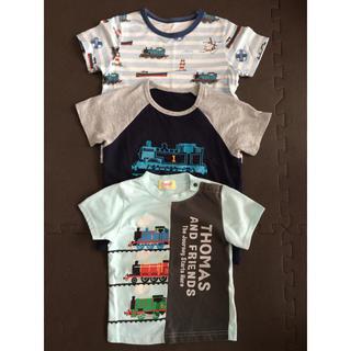 ユニクロ(UNIQLO)のトーマス Tシャツ パジャマ 90 95 100(Tシャツ/カットソー)