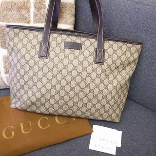グッチ(Gucci)の正規品☆グッチ トートバッグ GGスプリーム ハンドバッグ バッグ 財布 小物(トートバッグ)