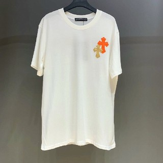 Chrome Hearts - 夏 クロムハーツ Tシャツ 白 コットン
