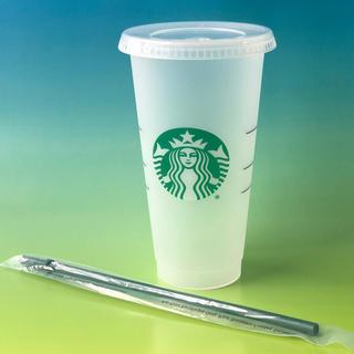 スターバックスコーヒー(Starbucks Coffee)の海外スターバックス★リユーザブルカップ★コールドカップ(グラス/カップ)